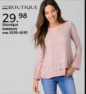 Boutique Sweaters