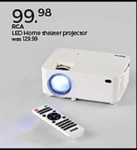 RCA LED Home Theater Projector