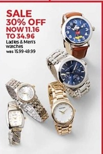 Ladies & Men's Watches