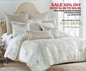 Nina Home By Nina Campbell Comforters and Quilts