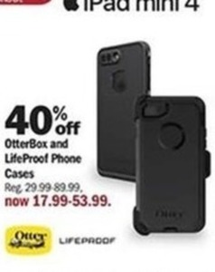OtterBox and LifeProof Phone Cases