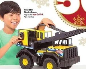 Tonka Steel Classics Cranes