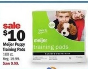 Meijer Puppy Training Pads