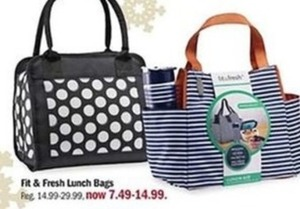 Fit Fresh Lunch Bags