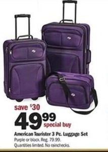 American Tourister 3 Pc. Luggage Set