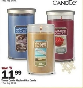 Yankee Medium Pillar Candle