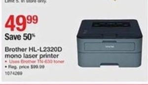 Brother HL L-2320D Mono Laser Printer