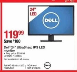 """Dell 24"""" U2412M UltraSharp IPS LED"""