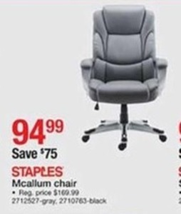 Staples Mcallum Chair