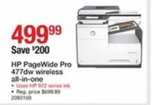 HP PageWide Pro Wireless All-in-One Printer