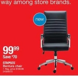 Staples Ventura Chair