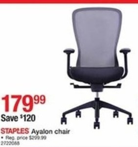 Staples Ayalon Chair