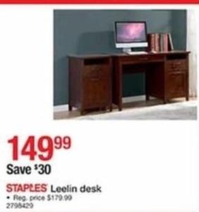 Leelin Desk