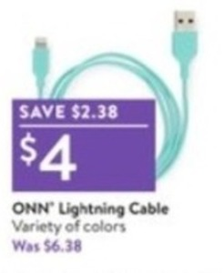 ONN Lightning Cable