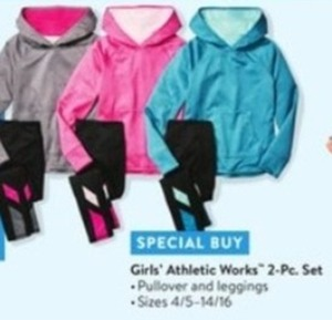 Girls' Athletic Works 2-Piece Set