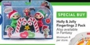Holly & Jolly Fingerlings 2 Pack