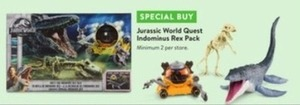 Jurassic World Quest Indeminus Rex Pack