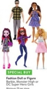Monster High Fashion Doll or Figure