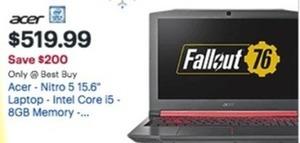 "Acer Nitro 5 15.6"" Laptop"