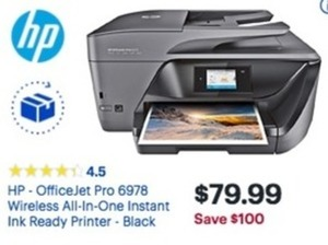 HP OfficeJet 6978 Wireless All-in-One Printer