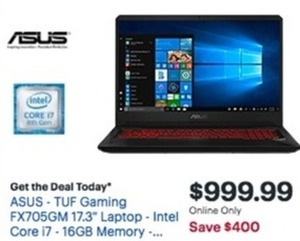 Asus TUF Gaming FX705GM Laptop