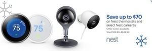 Nest Thermostats and Select Nest Cameras