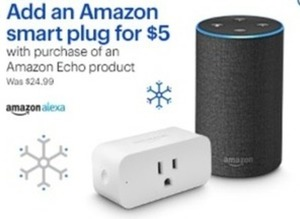 Amazon Smart Plug With Purchase Of An Amazon Echo Product