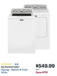 Maytag Washer or Dryer