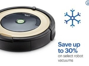 Select Robot Vacuums