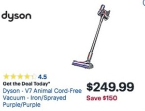 Dyson V7 Animal Cord Free Vacuum