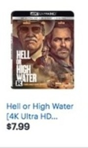 Hell or High Water 4K Ultra HD Blu-Ray