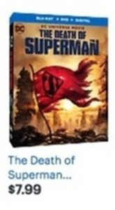 The Death of Superman Blu-Ray/DVD