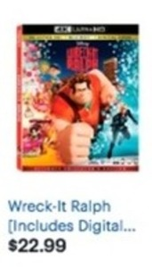 Wreck-It Ralph 4K Ultra HD Blu-ray