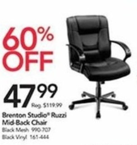 Brenton Studio Ruzzi Mid-Back Chair