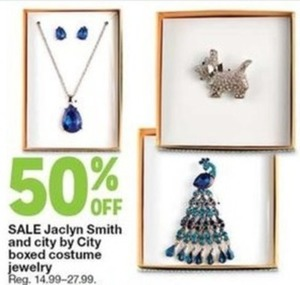 Jaclyn Smith and City by City Boxed Costume Jewelry