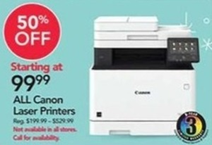 All Canon Laser Printers