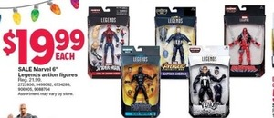 "Marvel 6"" Legends Action Figures"