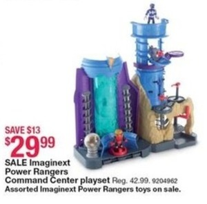 Power Rangers Command Center Playset
