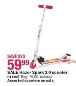 Razor Spark 2.0 Scooter