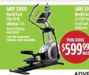 NordicTrack Elite Elliptical