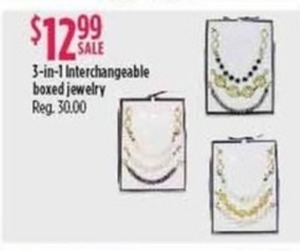 3-In-1 Interchangeable Boxed Jewelry