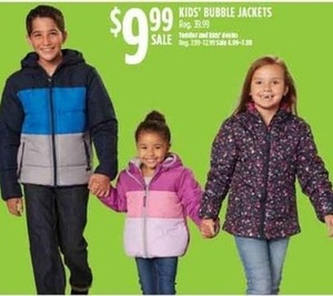 Kids' Bubble Jackets