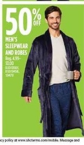 Men's Sleepwear & Robes