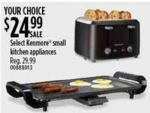 Select Kenmore Small Kitchen Appliances