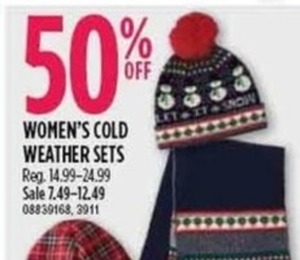 Women's Cold Weather Sets
