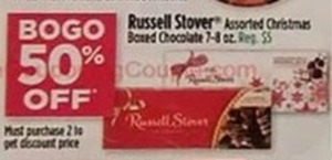 Russell Stover Assorted Christmas Boxed Chocolate