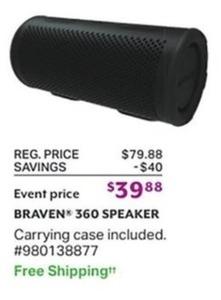 Braven 360 Speaker