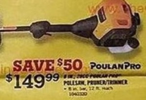 PoulanPro Pruner/Trimmer