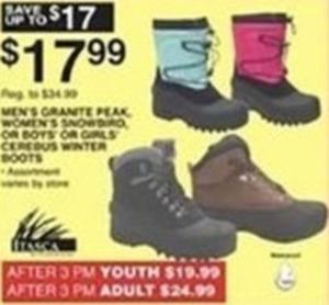 Mens Crante Peak Boots