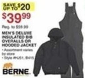 Men's Deluxe Insulated Bib Overalls